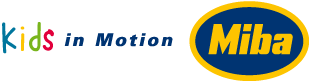Kids in Motion - Miba - Logo